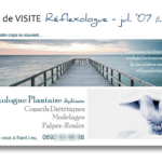CARTE de VISITE Reflexo - juil 07